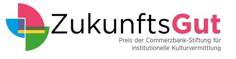 ZukunftsGut Logo, Preis der commerzbank-Stiftung für institutionelle Kulturvermittlung