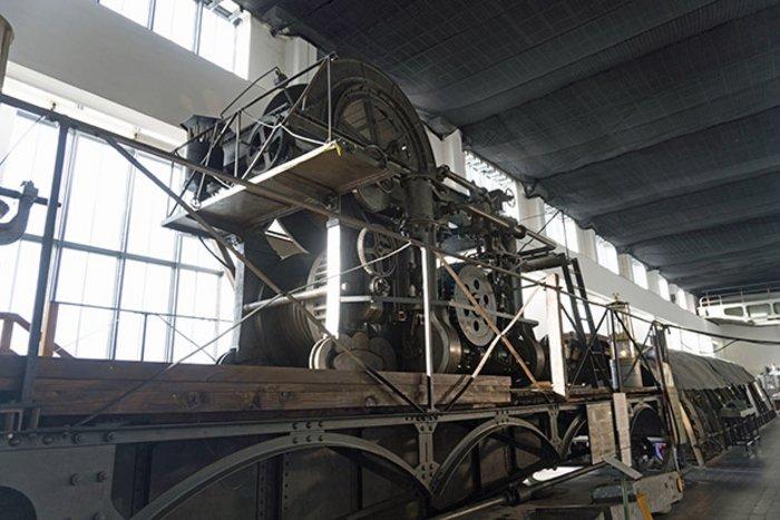 Bild: Ab in die Zukunft: der Dampfhaspel Als beeindruckend und imposant beschrieben die Museumsbesucher in Ibbenbüren den Dampfhaspel – und wählten ihn für die Zukunft aus. Foto: Bergbaumuseum Ibbenbüren