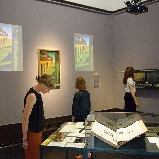 Bild: Transparentes Museum / ©Hamburger Kunstahlle / Foto: Kay Riechers