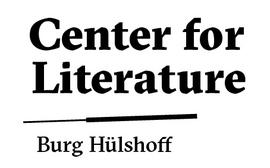 Logo: Center for Literature, Burg Hülshoff