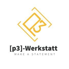 Logo: p3-Werkstatt