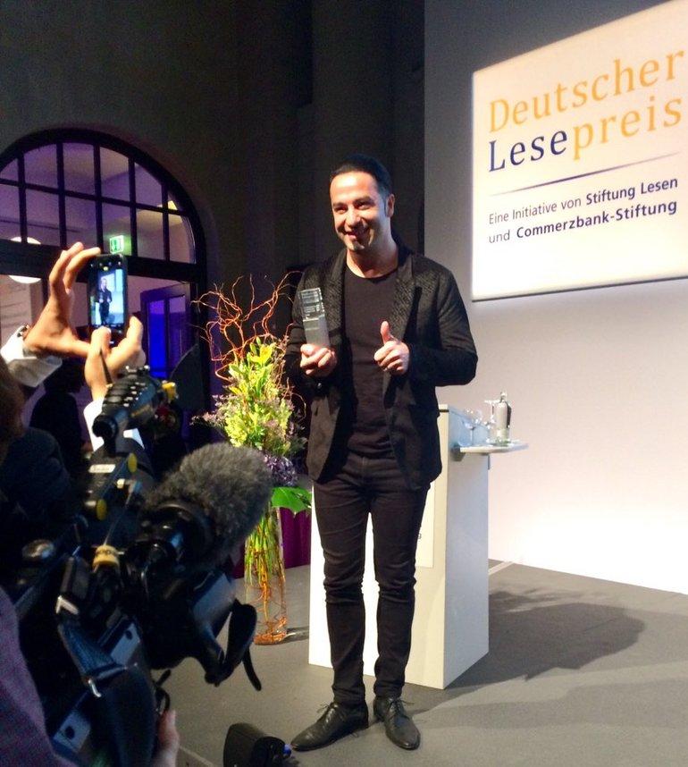 Preisträger Bülent Ceylan, @Stiftung Lesen